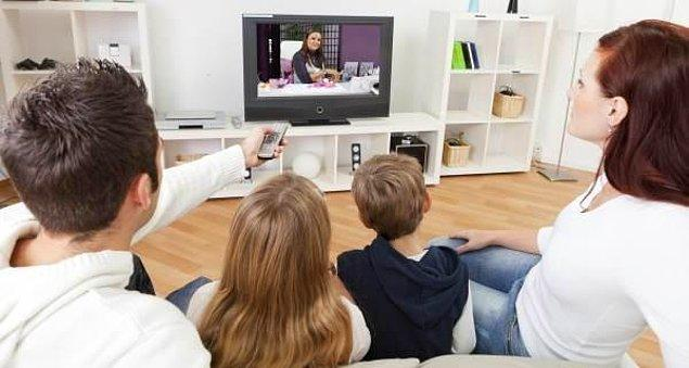 1. Televizyon izleyebilirsiniz.