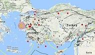 Ege Denizi'nde 6.2 Büyüklüğünde Deprem!