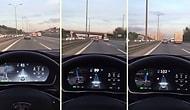 Tesla Otopilotun TEM'de Kaydedilen Görüntüsü