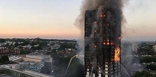 Londra'da Yangın Faciası: Can Kaybı 17'ye Yükseldi