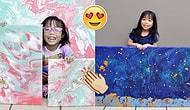 Resim Yaparak Kazandığı Parasını Yardım Kuruluşlarına Bağışlayan 3 Yaşındaki Minik Kız