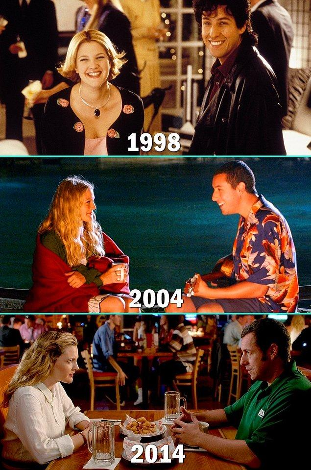 7. Drew Barrymore & Adam Sandler