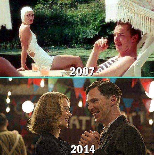 19. Keira Knightley & Benedict Cumberbatch
