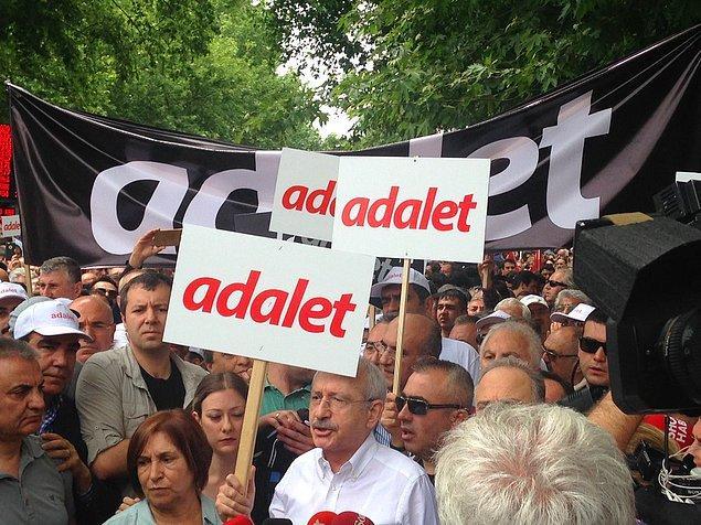 """""""Bu yürüyüş, kutlu bir yürüyüştür"""" diyen Kılıçdaroğlu, Güvenpark'ta yaptığı açıklamaya şöyle devam etti 👇"""