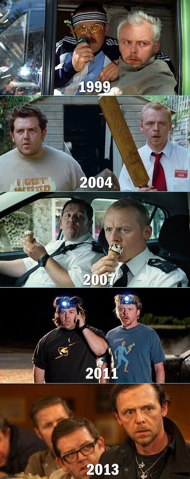 17. Simon Pegg & Nick Frost