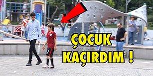 Türkiye'de Parkta Çocuk Kaçırma Deneyi Yapmak