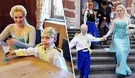 En Büyük Hayali 'Prenses Elsa' ile Evlenmek Olan Kanser Hastası Jayden ve Muhteşem Düğünü