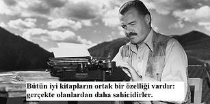 Ernest Hemingway'den Genç Yazar Adaylarına Altın Değerinde 15 Tavsiye