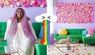Dünyanın Tüm Pastel Renklerini Kullanarak Kendi Elleriyle Bir 'Unicorn' Evi Yaratan Kadın