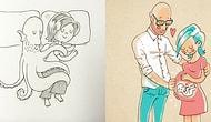 Sevgilisiyle Yaşadıklarını Beş Yıldır Çizimlerle Anlatan Adamdan 26 Aşk Dolu İllüstrasyon ❤️