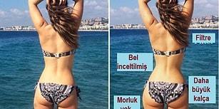 Instagram Üzerindeki Sahte Güzellikleri Göstermek İçin Photoshop Yapan Fitness Blogger'ı