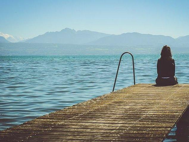 4. Yalnızken ne kadar mutlu olduğunu öğrenelim bir de?
