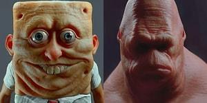 İşgüzar 3D Sanatçısından Sünger Bob ve Kankisinin Gerçekliğimize 'Uygun' İnsan Versiyonu!