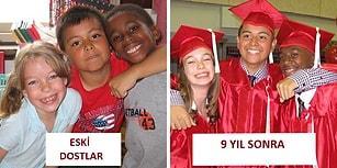 Yıllar Bizi Ayıramaz! Kopmayan Dostluk ve Aile Bağlarını Gösteren 31 Eski ve Yeni Fotoğraf