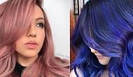 Instagram'da Saç Modası! Bu Yaz Muhtemelen Denemek İsteyeceğiniz 17 Sıra Dışı Renk