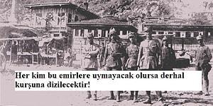 İşgal Yıllarının Çarpıcı Örneklerinden Birisi: Yunan Kumandanının Halka Verdiği Emirler