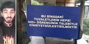 ODTÜ'de 'Cinsiyetsiz' Tuvalet Dönemi Başladı