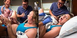 Nihayet Geldin! Bebeğinin Cinsiyetini Öğrenmek İçin Doğumu Bekleyen Annenin Tatlı Şaşkınlığı
