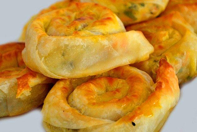 2. Peynirli, ıspanaklı, kıymalı börekten sıkıldınız mı?