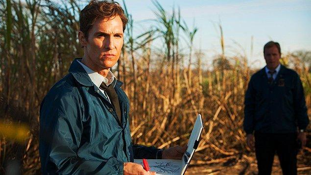 3. True Detective (2014–)    IMDb 9.1