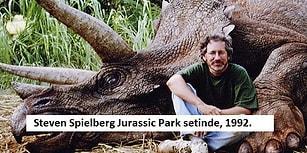 Bizi Alıp Steven Spielberg'in Unutulmaz Film Setlerine Götüren 26 Bol Nostaljili Fotoğraf