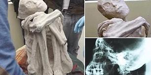 Antik Uzaylı Olabilir mi? Güney Amerika'da Bulunduğu İddia Edilen Gizemli Mumya