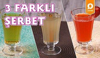 Osmanlı'dan Günümüze Buz Gibi Enfes 3 Farklı Şerbet Nasıl Yapılır?