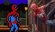 9 Dakikada Örümcek Adam Oyunlarının Gelişimi