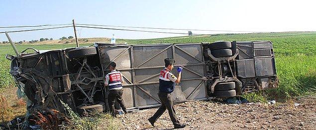 26 Haziran Pazartesi: 10 kazada 9 kişi can verdi, 90 kişi yaralandı.