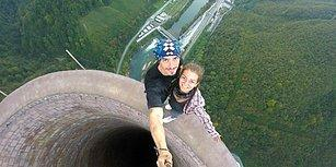 Avrupa'nın En Uzun Bacasına Tırmanan Çiftin Akıllara Durgunluk Veren Macerası