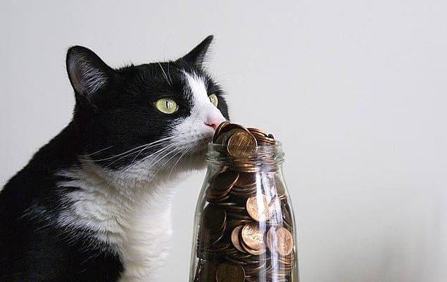 3. Sağda solda kalmış bozuk paralarınızı mutlaka biriktirin.