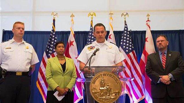 Washington polisi 12 koruma hakkında yakalama kararı çıkarıldığını açıklamıştı.