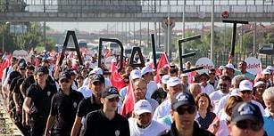 Dün Gübre, Bugün Mermi: Öne Çıkan Başlıklar ve Fotoğraflar ile Adalet Yürüyüşü'nde 14'üncü Gün