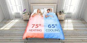 Bu Yatak Yuva Kurar! İstenilen Tarafta Sıcaklık Ayarının Değiştirilebildiği Akıllı Yatak