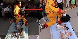 Erkeklerin Şeytan Kılığına Girip Bebeklerin Üzerinden Atladığı Tuhaf Festival: El Colacho