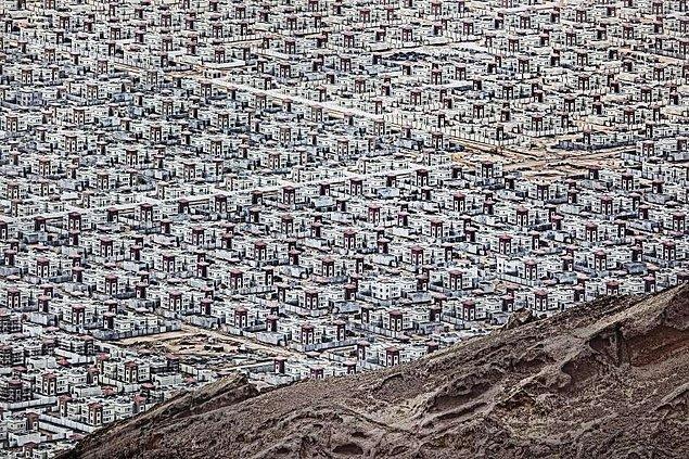 21. Umman'da bir çöl şehri
