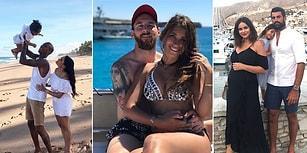 Futbolcuların Bol Miktarda Deniz-Kum-Güneş İçeren Tatil Paylaşımları