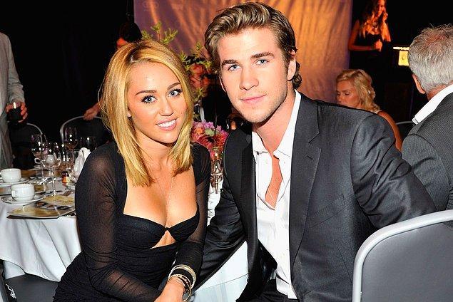5. Kariyerine Disney ile başlayan Miley Cyrus, yıllarca bakire imajı ile anıldı.
