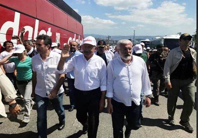 """CHP İstanbul İl Başkanı Cemal Canpolat,  pazar günü Maltepe'deki  """"Adalet Buluşması""""yla ilgili açıklama yaptı."""