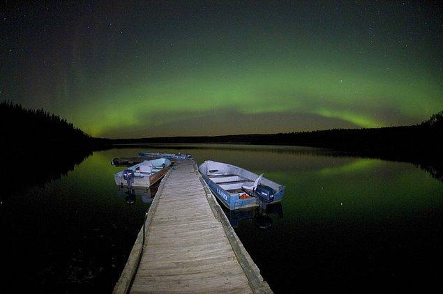 1. Kuzey Işıkları, İzlanda