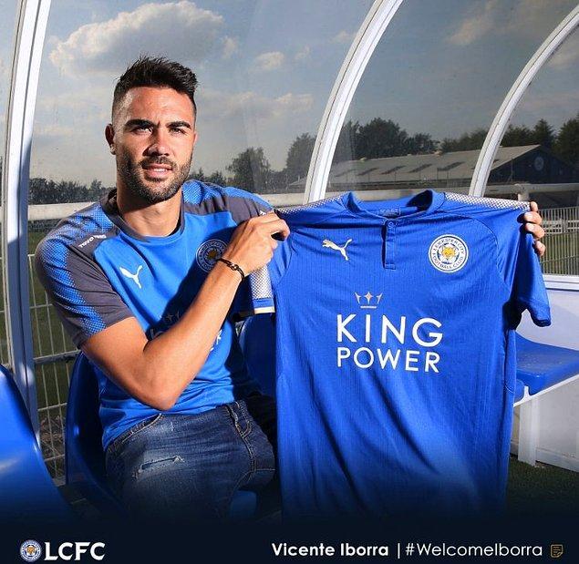 60. Vicente Iborra ➡️  Leicester City