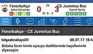 Fenerbahçe, Sahte Juventus'a Yenilince Daha Sezon Başlamadan Karalar Bağlayan 18 Taraftar