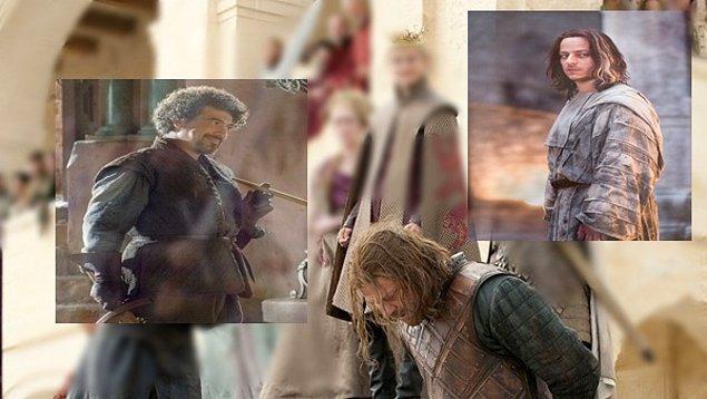 Yani bu durumda şöyle bir karmaşayla baş başa kalıyoruz: Ned Stark = Jaqen H'ghar = Syrio Forel ?!