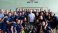Athletic Bilbao'lu Oyuncular, Kanser Tedavisi Olan Takım Arkadaşları İçin Saçlarını Kazıttı