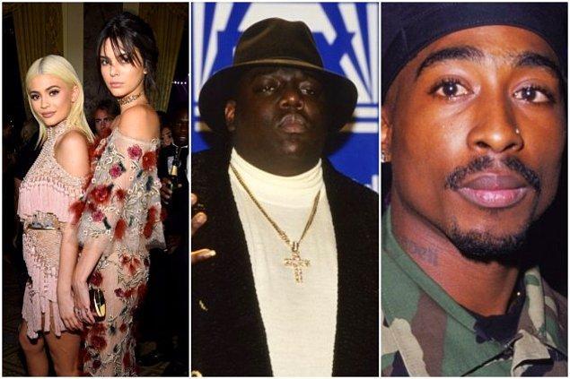 Tupac ve The Notorious B.I.G. efsane fotoğrafları da kullanılan görseller arasında yer alıyor.