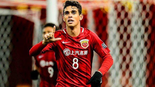 17. Oscar | Chelsea ➡️ Shanghai SIPG