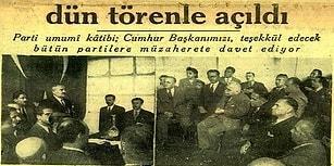 Çok Partili Türk Demokrasisinin Unutulan İlk Muhalefet Hareketi: Milli Kalkınma Partisi