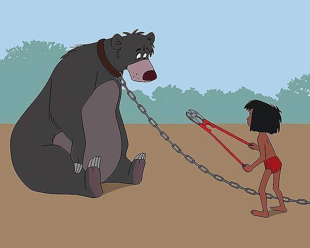 12. Ortaya çıkan eserler bizim dünyamızın, mutlu sonlarla dolu Disney dünyası olmadığını da hatırlatıyor.