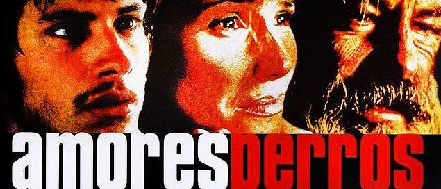 18. Paramparça Aşklar Köpekler (2000) | IMDb: 8.1