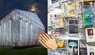 Bir Sanatçının Yasaklanmış Kitaplarla İnşa Ettiği Devasa ve Göz Alıcı Partenon